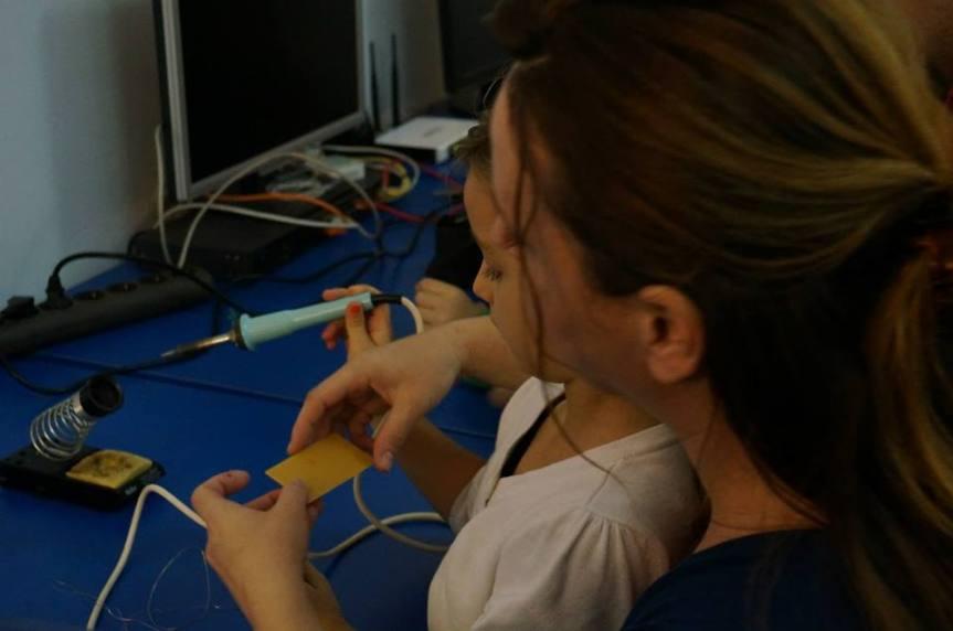 e-radionica – učenje lemljenja uzinstruktora