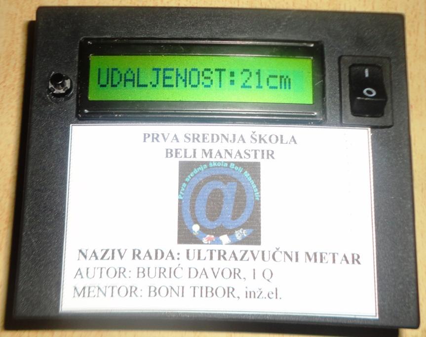 Ultrazvučni-mjerač