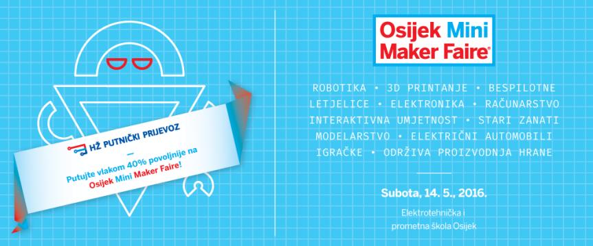 HŽ vam pomaže da lakše dođete na MakerFaire!