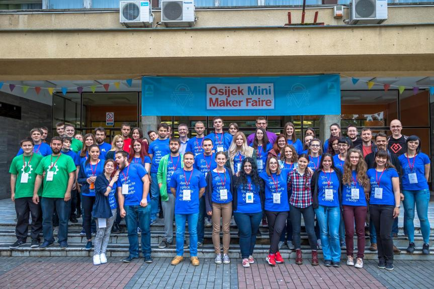 Prvi Osijek Mini Maker Faire je izanas